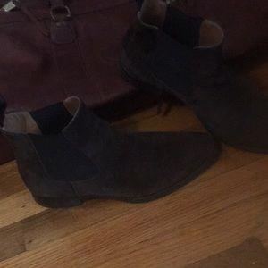 Jack Erwin Made in Spain brown suede boots 10